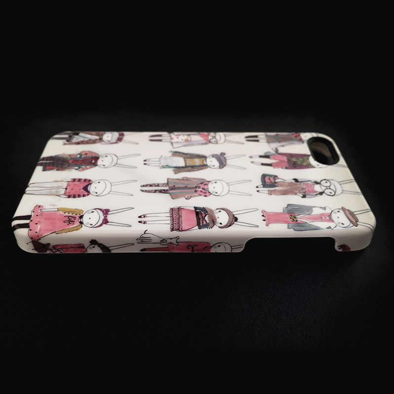 High Quality Custom Design Cell/Mobile Phone Cover/Case for iPhone 7/Se/5/5s/6/6s/6 Plus Water Transfer IMD Flat Printing Plating Crafts Optional