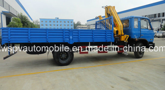 180HP 5 Ton 6ton Lorry Truck with Crane 8t Crane Truck for Sale