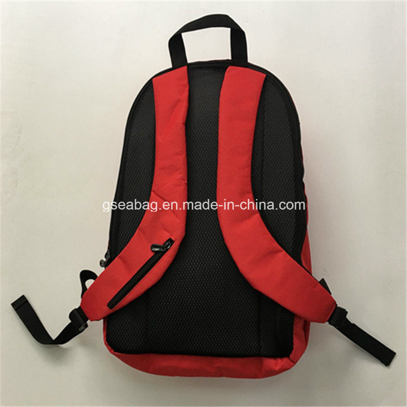 2017 Fashion Sport Laptop Backpack School Bag Travel Hiking Camping Business Promotional Backpack (GB#20001) -Red