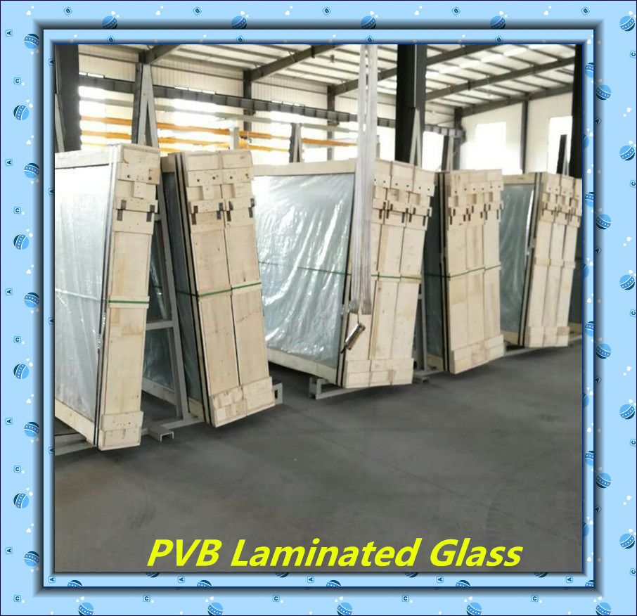 2134*3300 Fresh Material PVB Laminated Glass