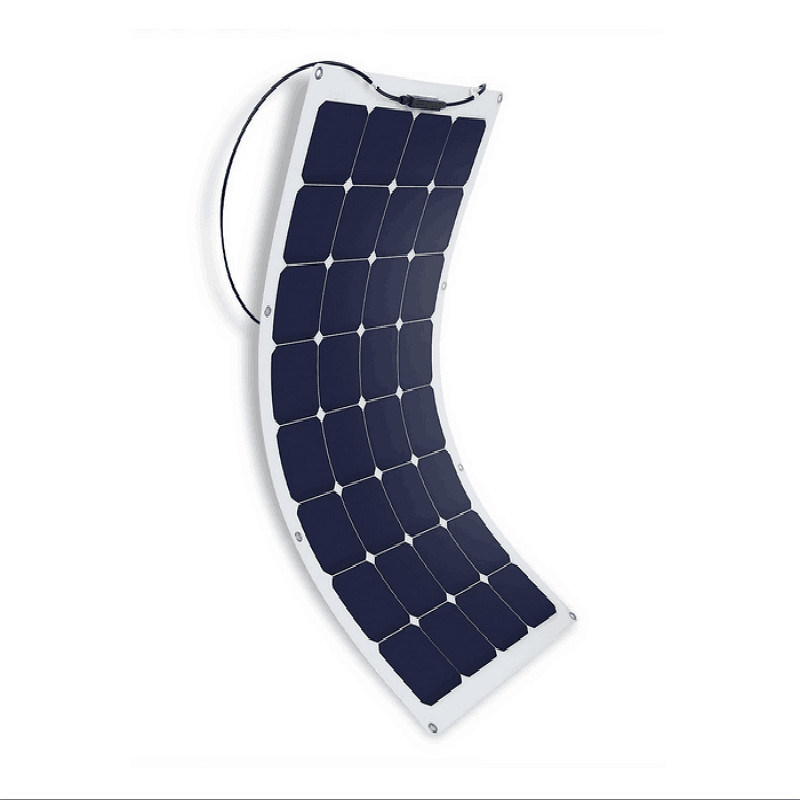 2017 High Efficiency 100W Flexible Solar Panel for RV Marine Home