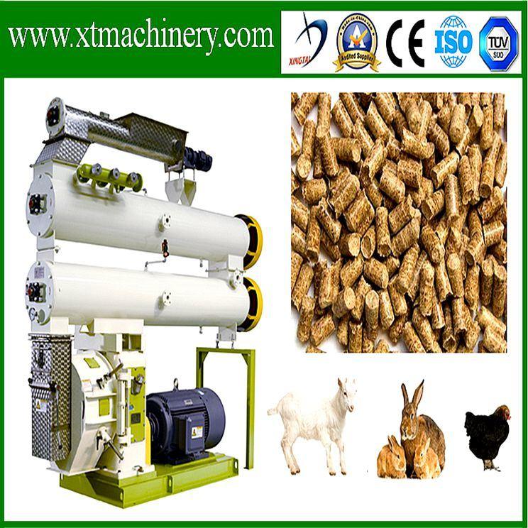 Low Investment, Good Price Animal Feed Pellet Granulating Machine
