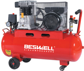 50 Liter and 100 Liter V Belt Driven Air Compressor