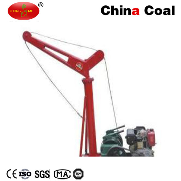 Zm China Coal Hot Sale Small Diesel Engine Truck Crane