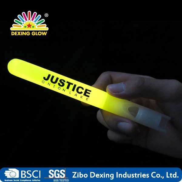 Glow Sticks Whistle Promotional Light Sticks