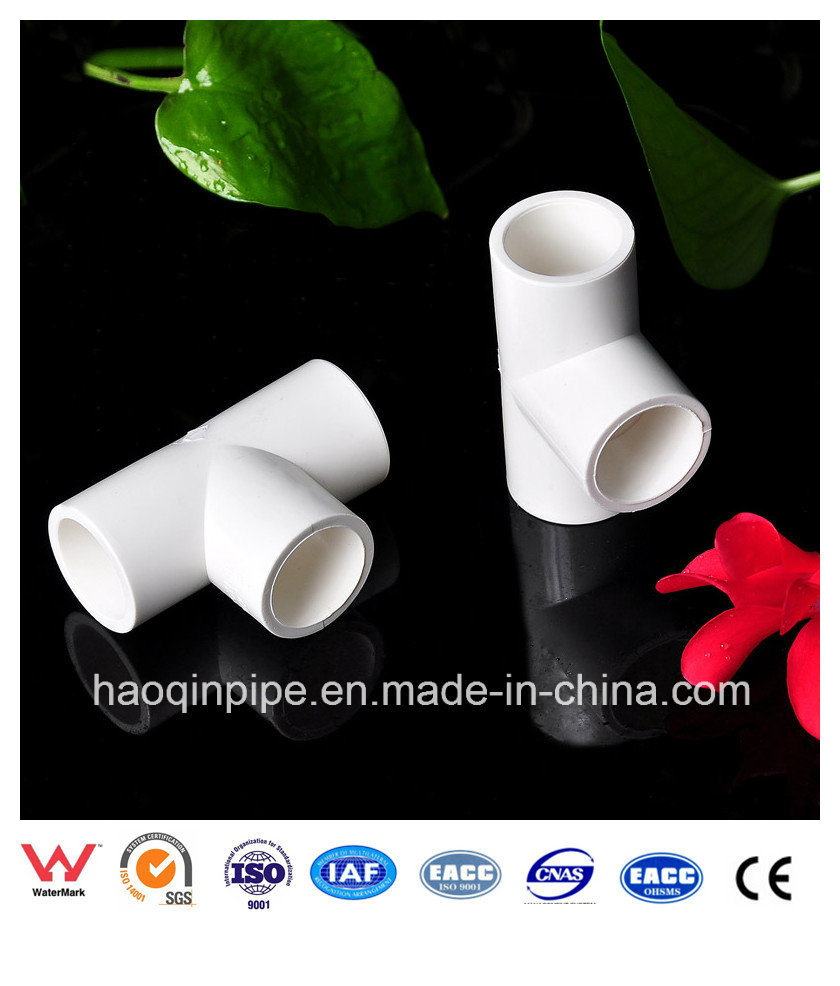 PVC Sch 40 Pipe and Fitting for Water Supply