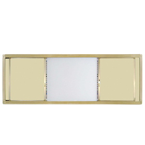 Cream-Colored Interactive Sliding Writing Board