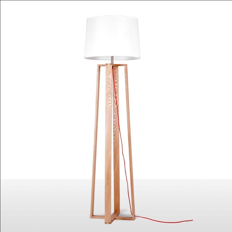 Lightingbird Hot Sale Wood Floor Lamp for Hotel and Home (LBMD-LD)