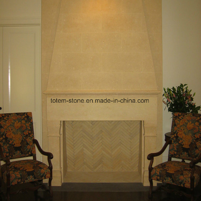 High Standards of Carving Granite Limestone Fireplace for Sale to Europe