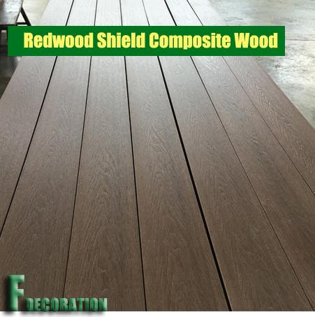 Co-Extrusion Plastic Wood Composite Decking WPC Flooring