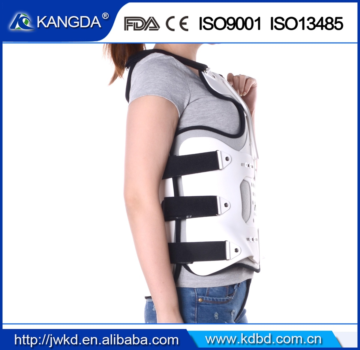 2017 New Postoperation Lumbar Spine Upper Bace Waist Chest Support Brace