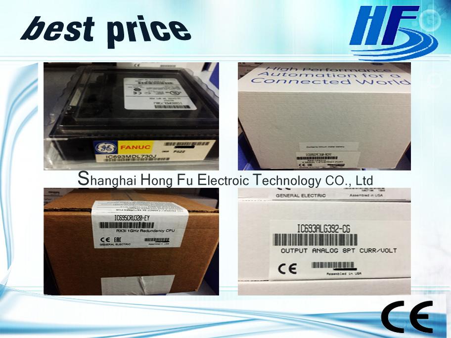 Programmable Logic Controller IC200pbi001 with Best Price_Ge Funuc PLC