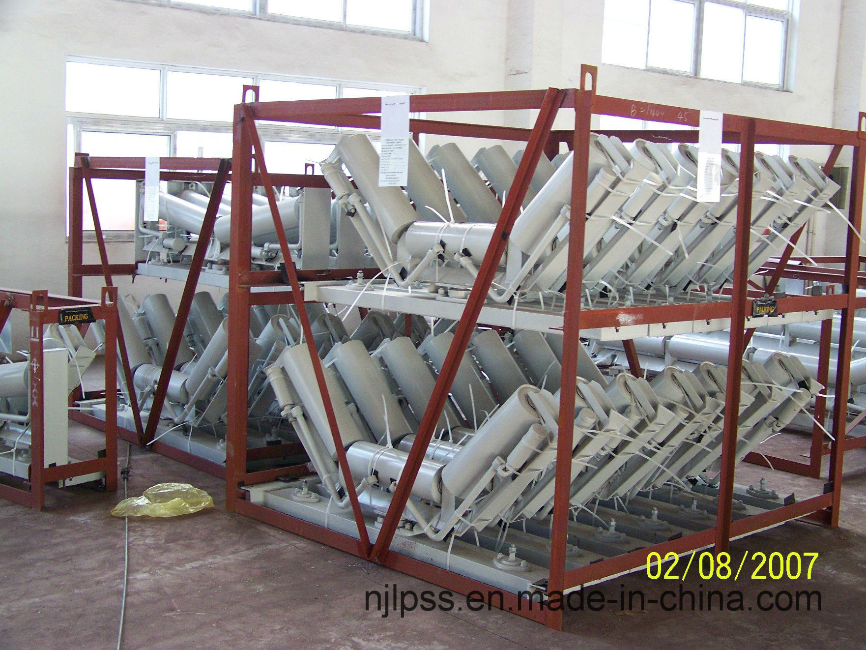Carrier Self Aligning Roller Group for Belt Conveyor Zds-S-2