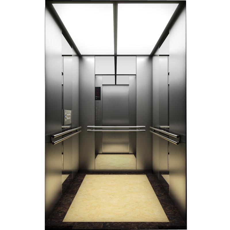Kjx-Sw51commercial Elevator Titanium Black Sts