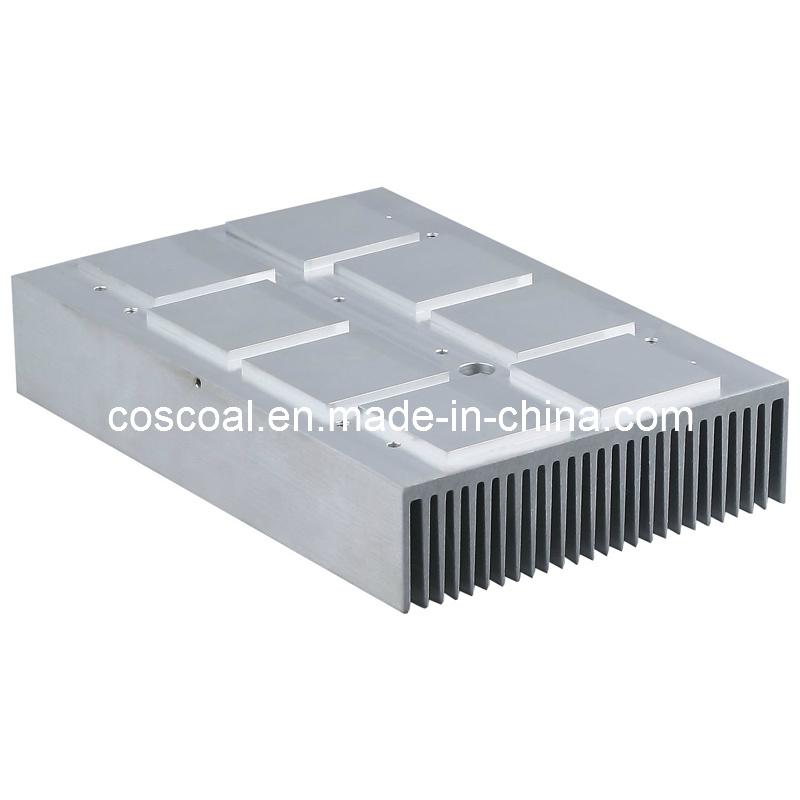 Aluminium/Aluminmium Extrusion for Heatsink (Full CNC Machining)