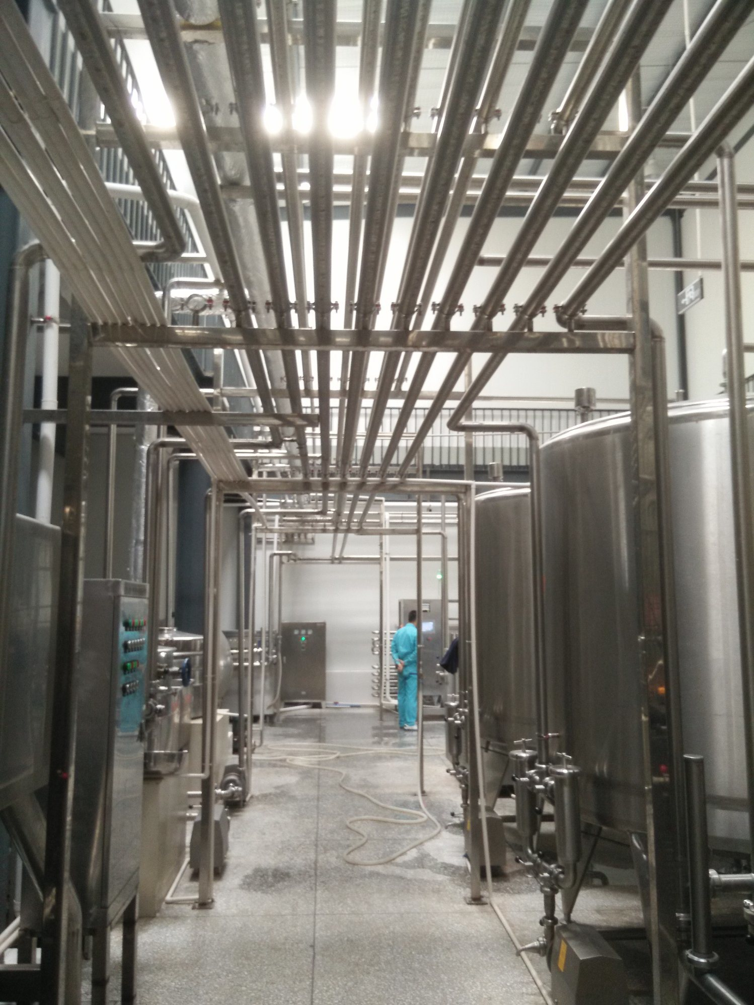 Full Automatic 3000L/H Fresh Juice Production Line