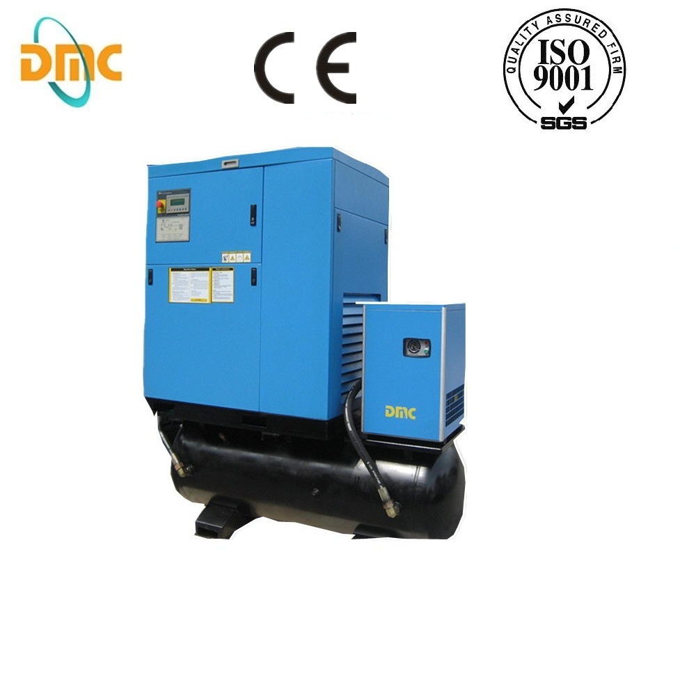 20HP Electric Rotary Screw Air Compressor with Tank