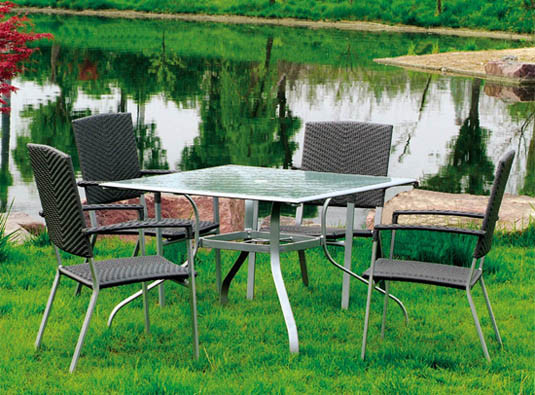 China Pvc Rattan Outdoor Furniture Garden Furniture