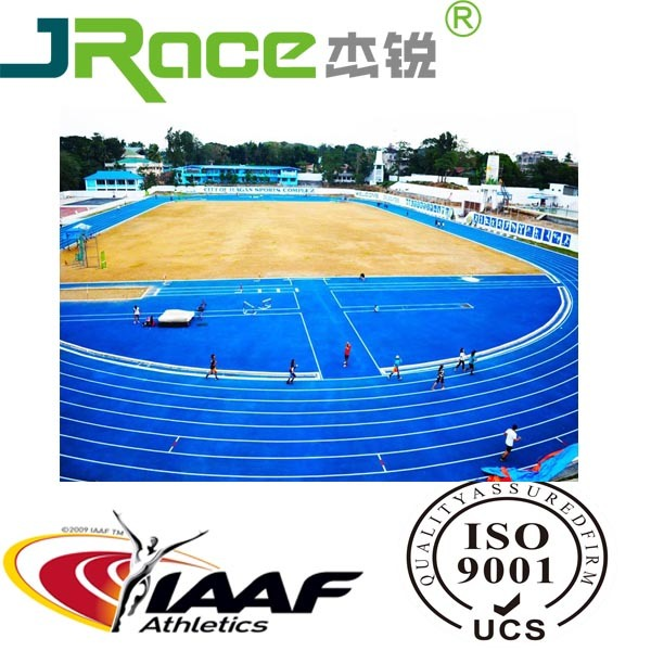 Sandwiched Running Track/Runway/Athletic Track/Racetrack for Sports Stadium