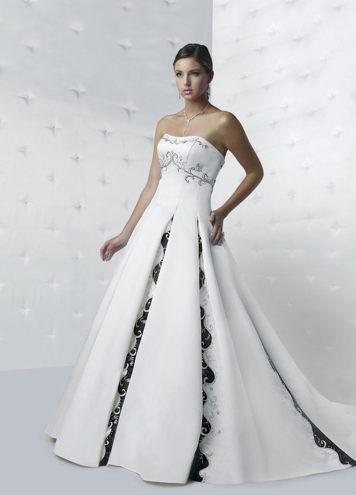 China wedding dress with color davic012 china wedding for Wedding dresses in color