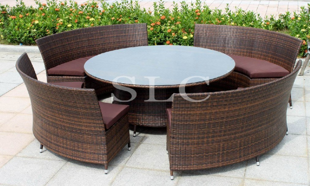 Image Result For White Resin Wicker Dining Tablea
