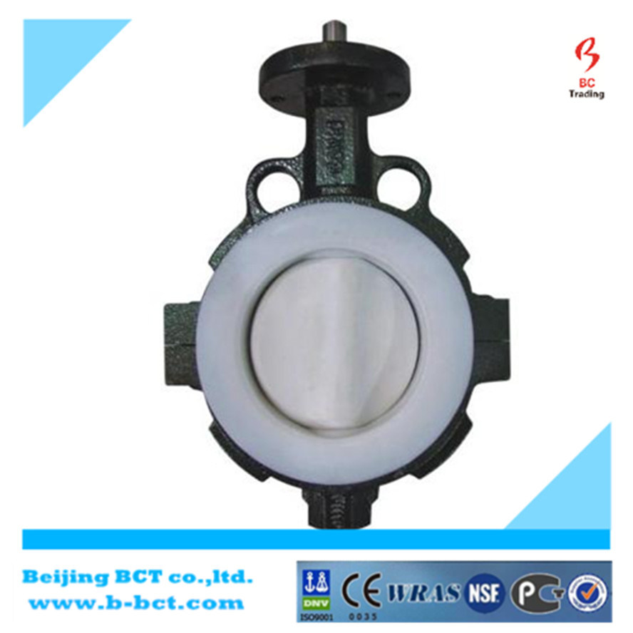 Alloy Aluminum Wafer Butterfly Valve with Handle JIS Standard