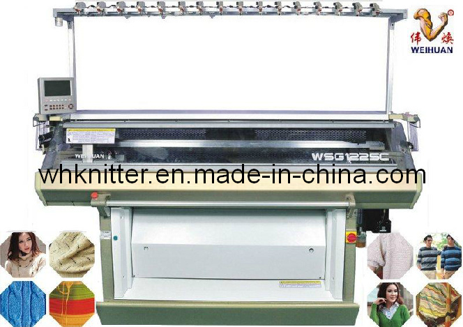 Weihuan (WH) Multigauge Double System Flat Knitting Machine (3.5.7MG) Shima Seik System, Ssg