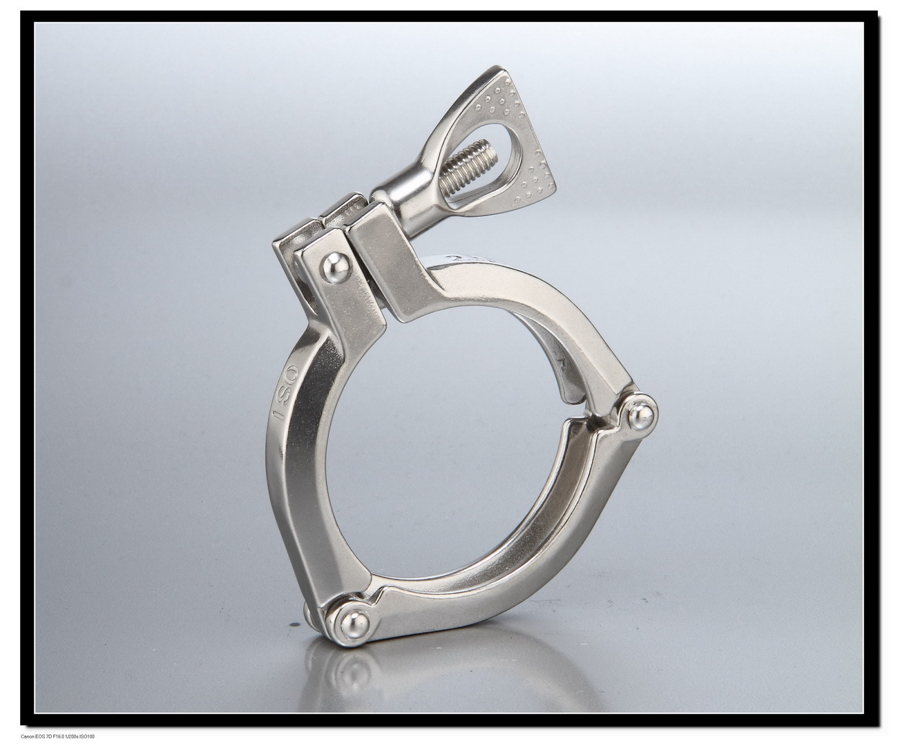 China three piece clamp  pipe