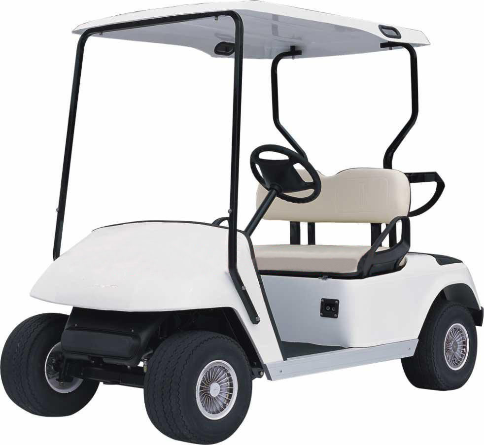 golfer clipart image funny cartoon golfer driving a golf cart on a