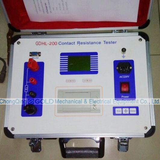 Gdhl Series DC Loop Resistance Tester for Circuit Breaker