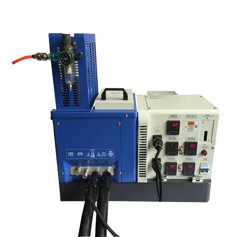 Semi-Automatic Hot Melt Glue Machine Coating Spray Machine