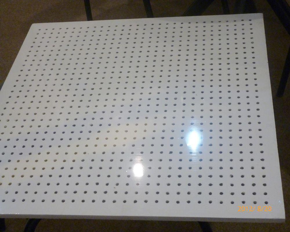 Mineral Fiber Board : Mm perforated lightweight mineral fiber board