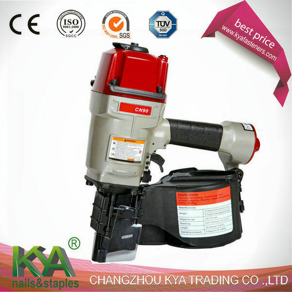 Cn90 Pneumatic Wire Collated Coil Nailer