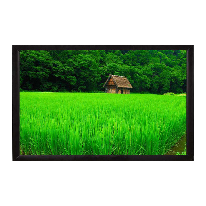 Fixed Frame Projection Screen 135 Inch 4: 3 Screen Curtain