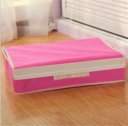 Medium Size Home Collecting Non-Woven Fabric Foldable Cardborad Box