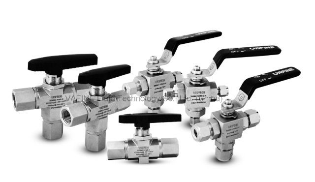 1000psig Stainless Steel One-Piece Body Ball Valves