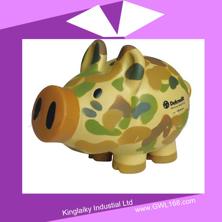 Funky Style Cute Piggy Coin Bank for Promotion Pb-002