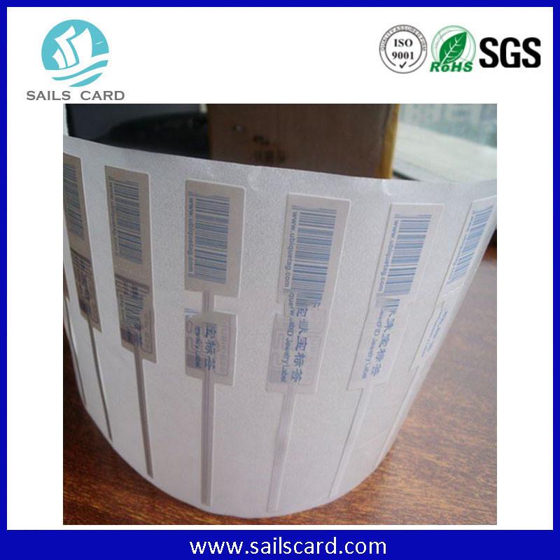 ISO18000-6c UHF Alien H3 RFID Adhesive Label