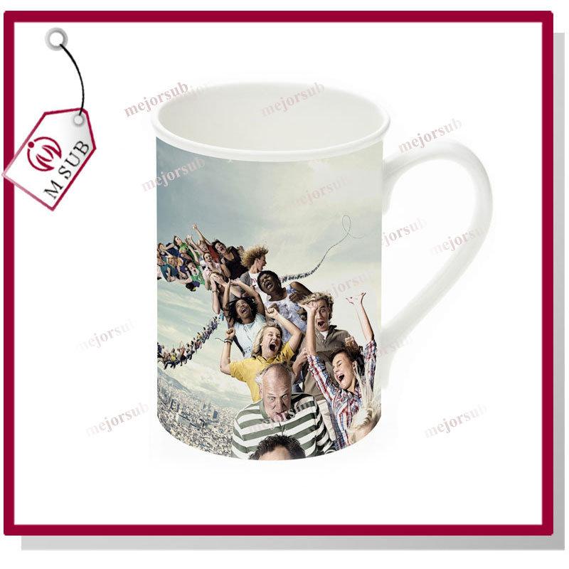 10oz Mug Custom Personalized Mug with Curled Rim
