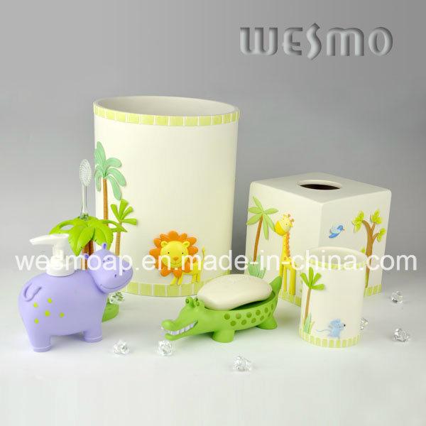 Kids Style Polyresin Bathroom Set (WBP0888A)