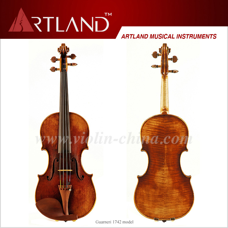 Guarneri 1742 Model Violin Solo Violin High Grade Antique Model Violin