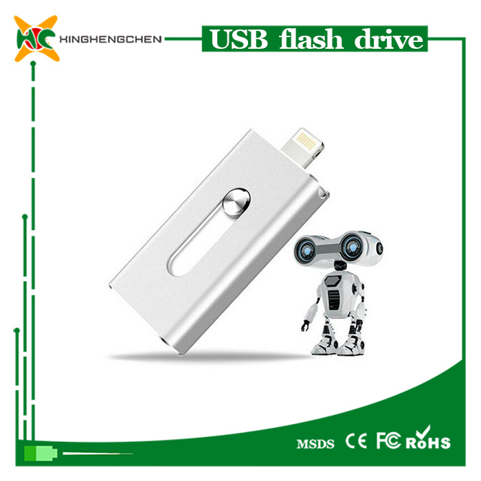 OTG USB Flash Drive for iPhone USB Pen Drive