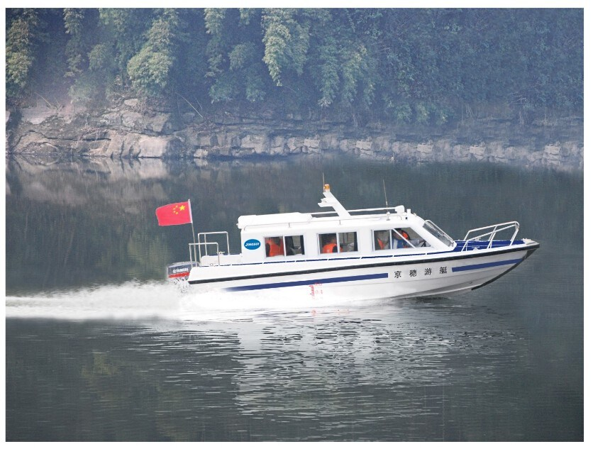 14 Persons Cabin Passenger Boat