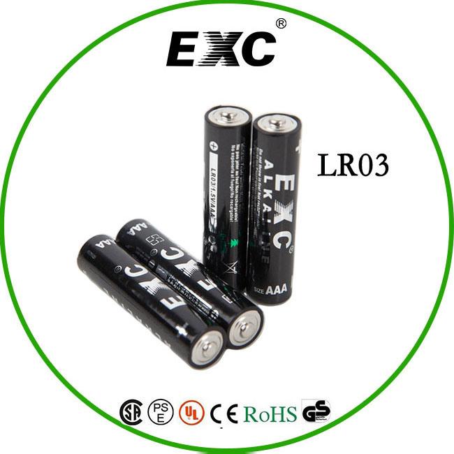 2016 Hot Sales Shrink Package 1.5V Lr03/AAA Alkaline Battery