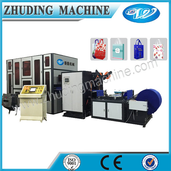 New 2016 Automatic Nonwoven Bag Box Type Making Machine with Handle Price