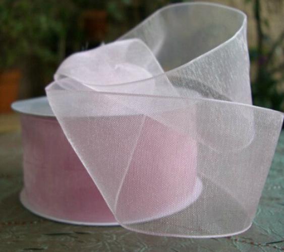 OEM Wonderful Designs Gift Organza Ribbon