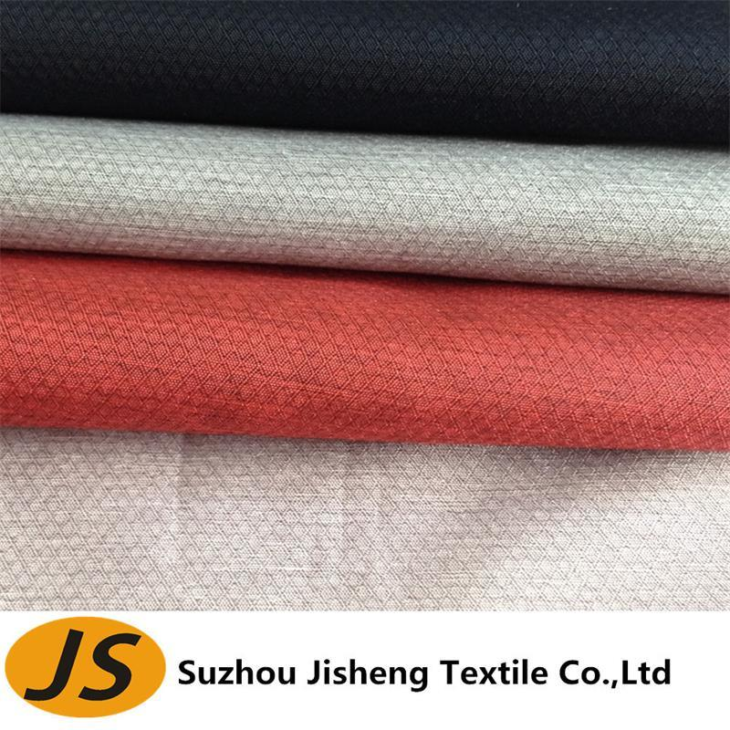 30d Waterproof Polyester Cationic Ribstop Fabric