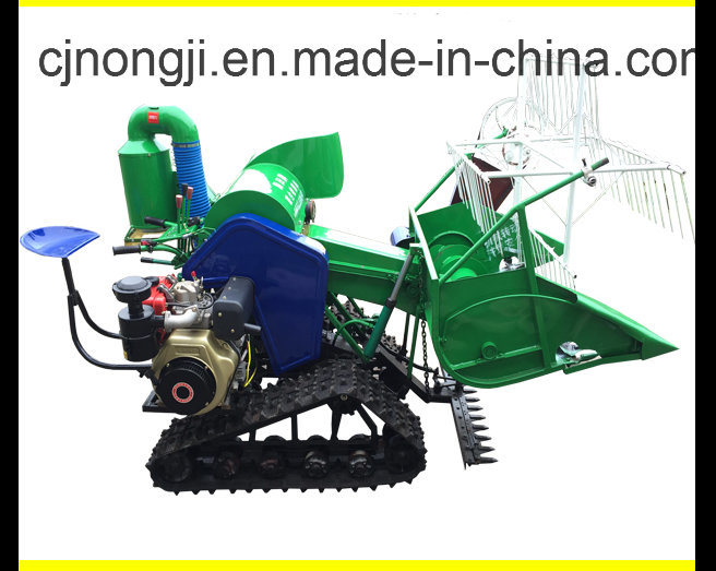 4LZ-0.8/1.0 Rice and Wheat Combine Harvester