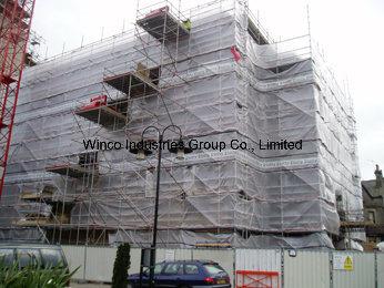 Scaffolding Sheeting, Grid Laminated Fabric Tarpaulin, Leno Tarpaulin