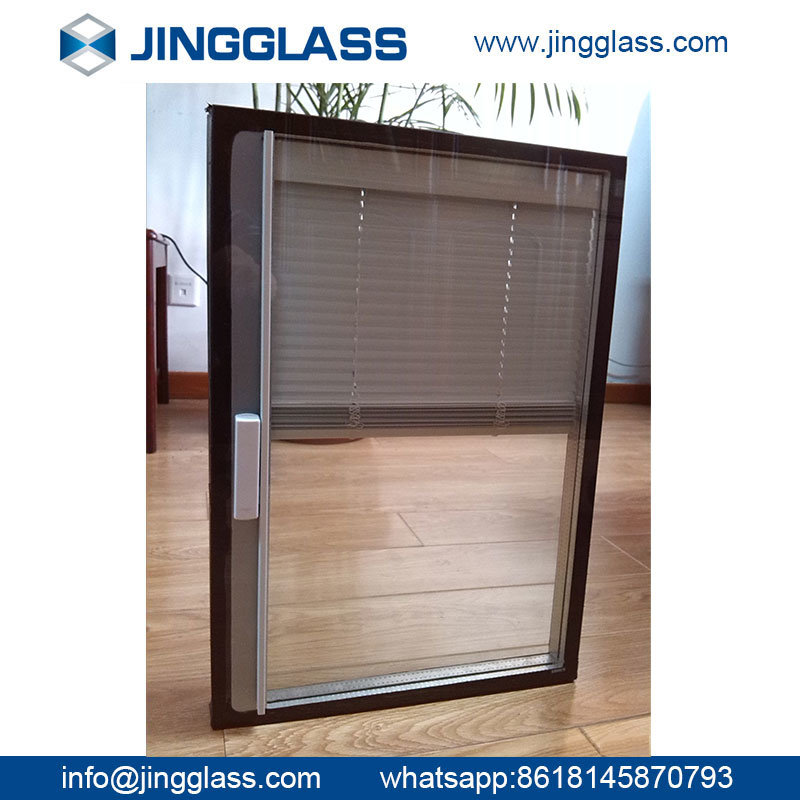 Construction Safety Triple Sliver Tempered Low E Glass with Soft Coat